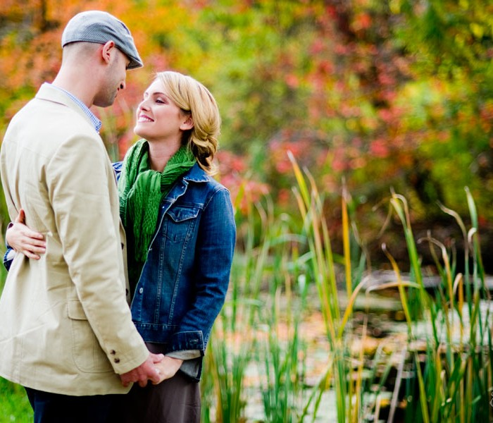 Honey Pot Hill Orchards Engagement Session