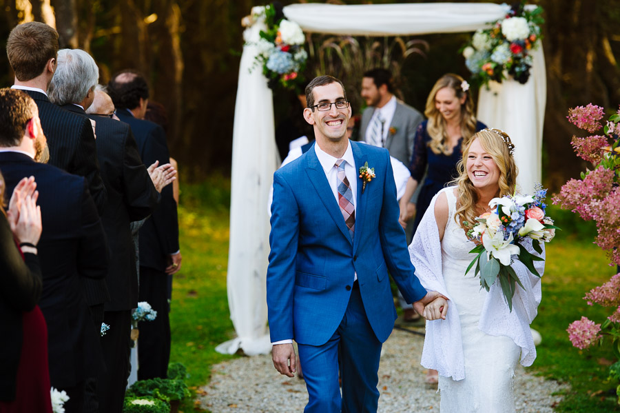 Jewish wedding ceremony at Seven Hills Inn