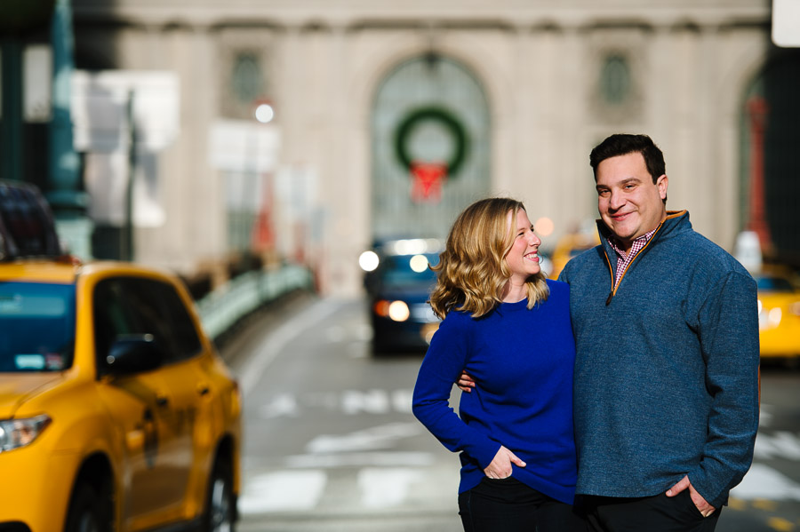 Grand Central Station engagement session NYC