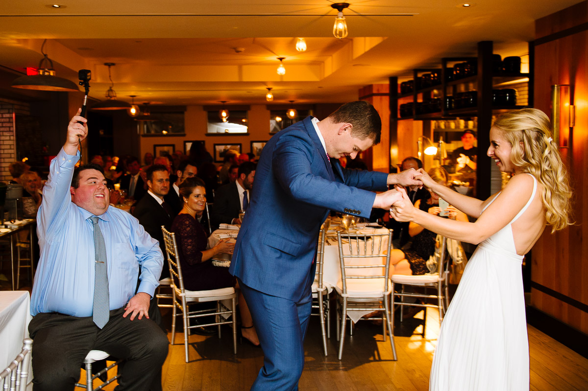 first dance at precinct bar and kitchen