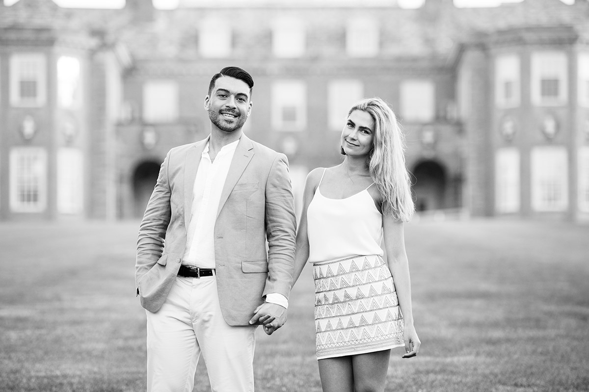Castle Hill Mansion engagement session
