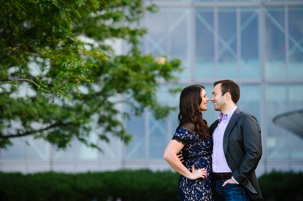 Moakley Courthouse backdrop for engagement session