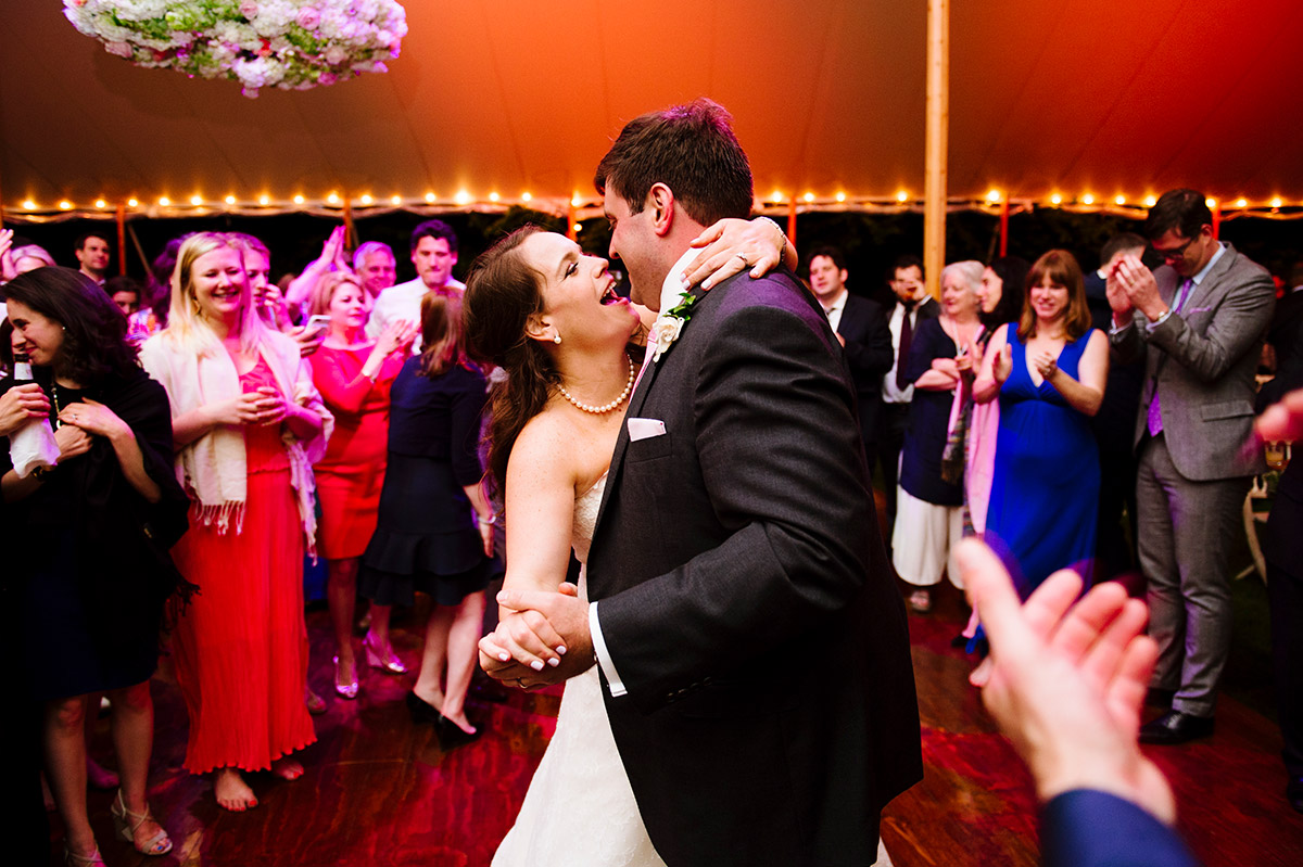 Private Residence Wedding In Massachusetts By Ashley O Dell Photography