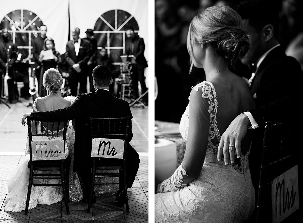 Mrs. and Mr. chair signs