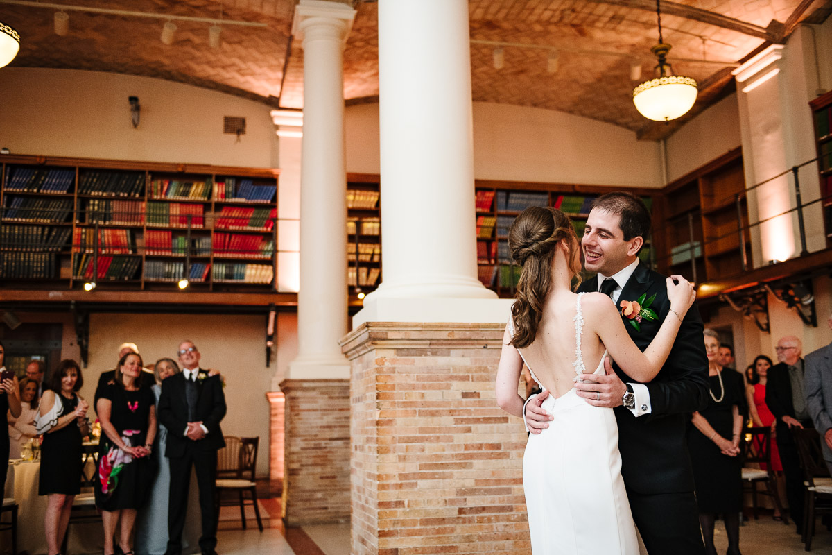 First dance in the Guastavino Room